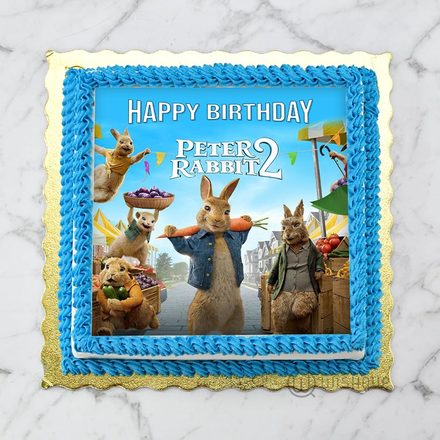 Peter Rabbit 2 Edible Print Cake 1Kg