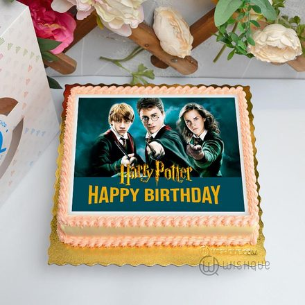Harry Potter Edible Print Cake 1.5Kg