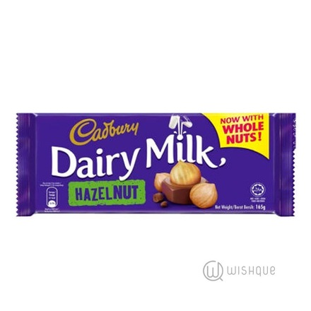 Cadbury Dairy Milk Hazelnut Chocolate 165g