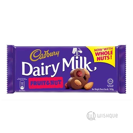 Cadbury Dairy Milk Fruit & Nut Chocolate 165g