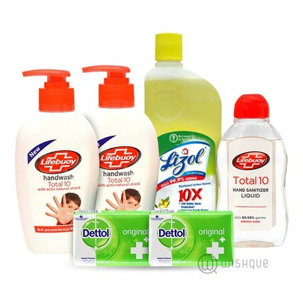 Disinfectants Hamper