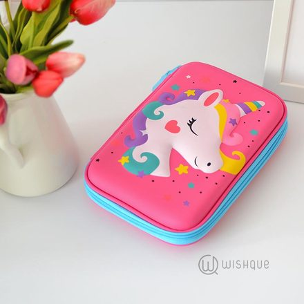 Unicorn Multifunctional Pencil Case