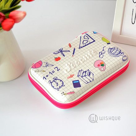 Mathematics Multifunctional Pencil Case