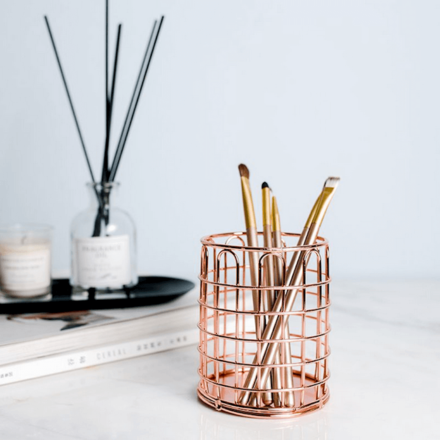 European Style Pen Holder- Rose Gold