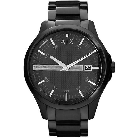 Armani Exchange Men's Three-Hand Stainless Steel Watch AX2104