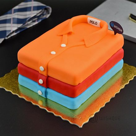 His Wardrobe Favourites Polo Collection Cake