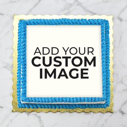 Custom Edible Print Cake