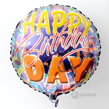 Happy Birthday Celebrations Foil Balloon