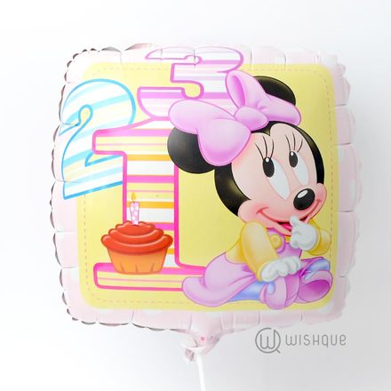 Baby Minnie Party Foil Balloon