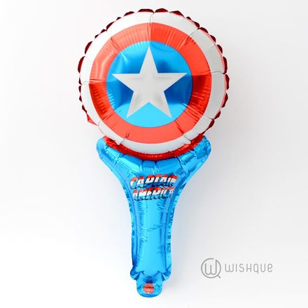 Captain America Party Foil Balloon