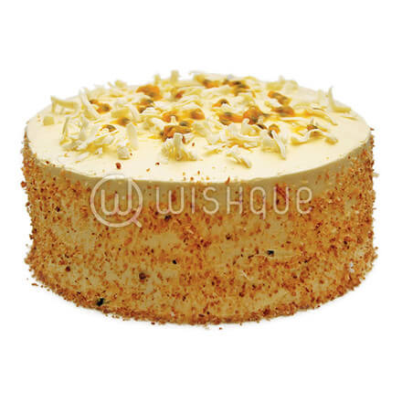 Passion fruit & Coconut Cake