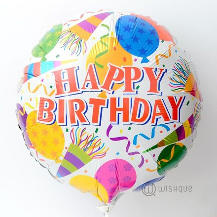 Happy Birthday Celebration Foil Balloon