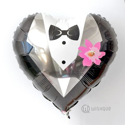 Gentlemen Suit Foil Balloon