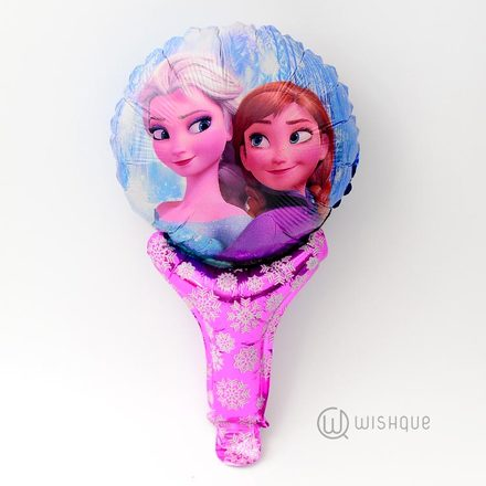 Elsa & Anna Snowflakes Decor Foil Balloon