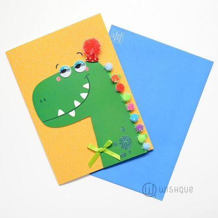 Om Nom Birthday Greeting Card