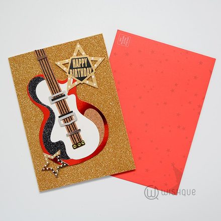 Rock & Roll Birthday Card