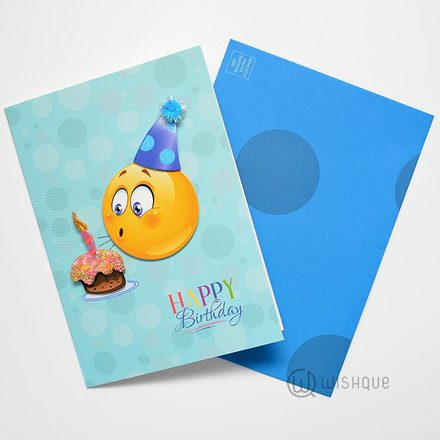 Let's Make A Wish Greeting Card