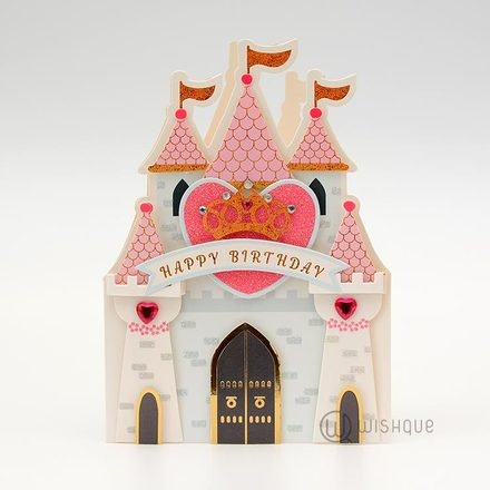 Magical Castle Birthday Card