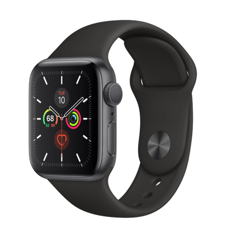 Apple Watch Series 5 Space Grey Aluminium 44mm Case with Sport Band (GPS)