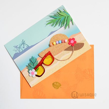 Holiday In The Caribbean Sunset Greeting Card