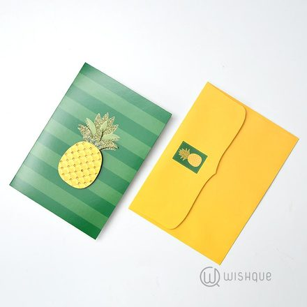 Be Like A Pineapple Greeting Card