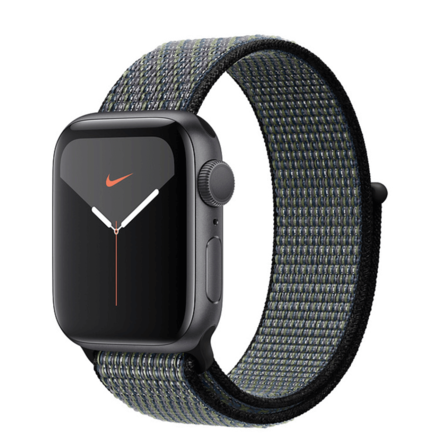 Apple Watch Series 5 Space Grey Aluminium 44mm Case with Nike Sport Loop(GPS)
