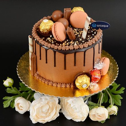 Lindt Celebration Choco Drip Messy Cake