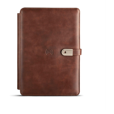 Pennline NoteBook Organizer - Dark Brown (Wireless+ 16GB USB)