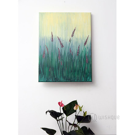 Love In The Spring Hand-Painted Abstract Wall Art