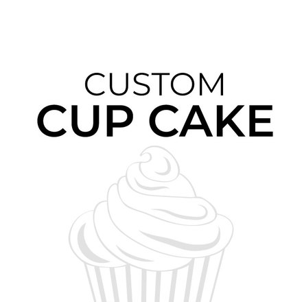 Customised Single Cupcake