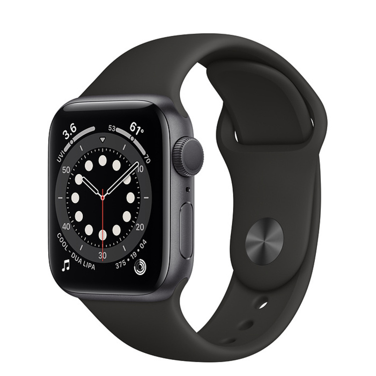 Apple Watch Series 6 Space Grey Aluminium 40mm Case with Sport Band (GPS)