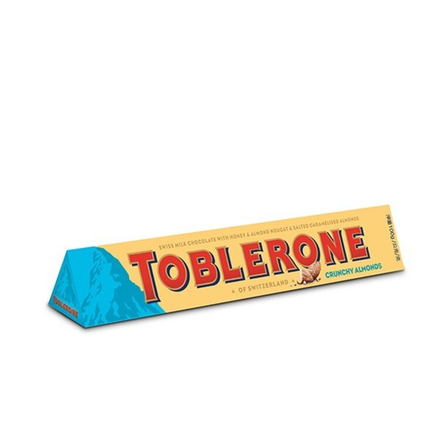 Toblerone Crunchy Almond Chocolate 100g
