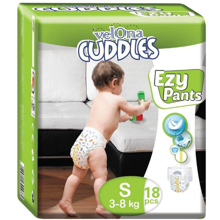 Velona Cuddles Ezy Pants (18 Pcs) In Three Sizes