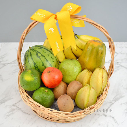 All Natural Diabetic Friendly Fruit Basket
