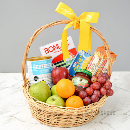 Healthy Living Fresh Fruit Basket