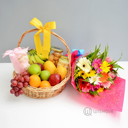 Fruity & Floral Fruit Basket