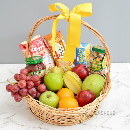 Diabetic & Delicious Fruit Basket