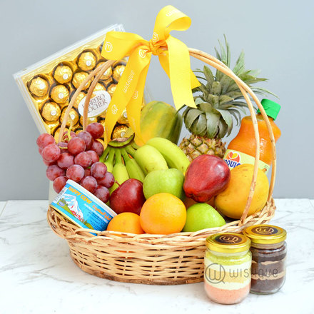 Fruity & Delicious Gift Basket