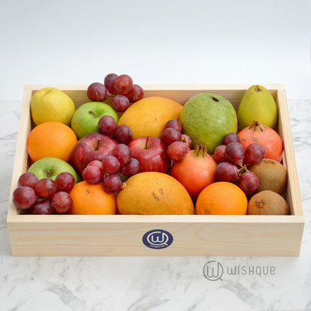 Seasonal Delights Gourmet Fruit Hamper