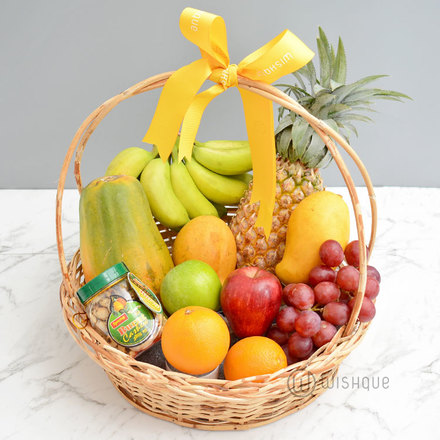Fruity & Nuts Gift Basket