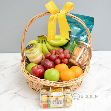 Fruit Sprinkle Gift Basket