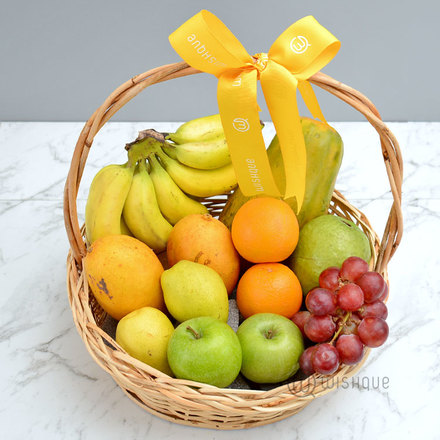 Sweet and Crunchy Fruit Basket
