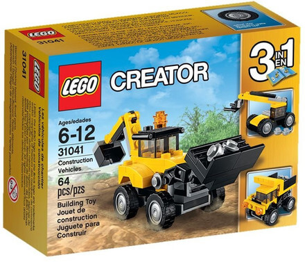 LEGO Creator Construction Vehicles 3 in 1
