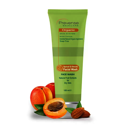 Prevense Apricot & Almond Facial Wash For Dry Skin