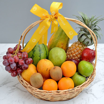 Tropical And Exotic Fruit Basket