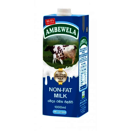 Ambewela Non Fat Milk 1L