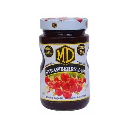MD Natural Strawberry Jam 500g
