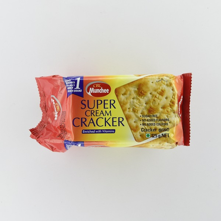 Munchee Super Cream Cracker 125g
