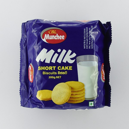 Munchee Biscuit Milk Short Cake 200g