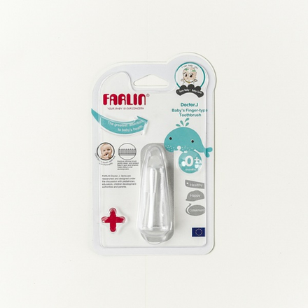 Farlin Doctor J Baby's Finger Type Toothbrush
